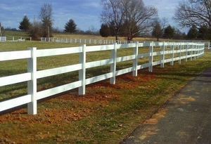custom vinyl fencing Troy